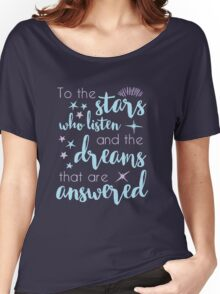 The Stars Who Listen Women's Relaxed Fit T-Shirt