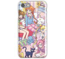 Magical Girls Sleepover iPhone Case/Skin
