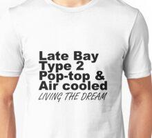 Late Bay Pop Type 2 Pop Top Black LTD Unisex T-Shirt