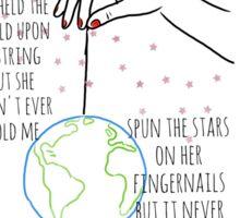 She Had the World Sticker