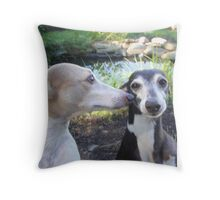 Goofballs Throw Pillow