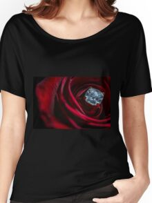 Diamond in the Rose Women's Relaxed Fit T-Shirt
