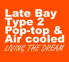 Late Bay Pop Type 2 Pop Top White LTD by splashgti