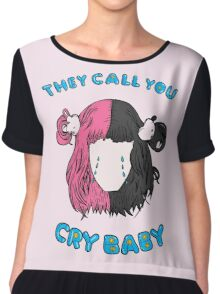 Cry Baby Tears Chiffon Top