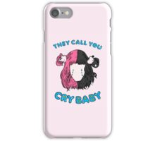 Cry Baby Tears iPhone Case/Skin