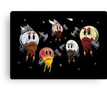 Dwarf Planets Canvas Print