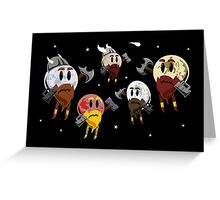 Dwarf Planets Greeting Card