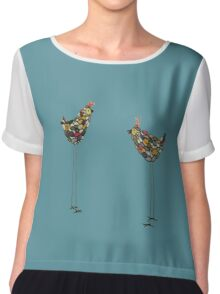 are you copying me ? Chiffon Top