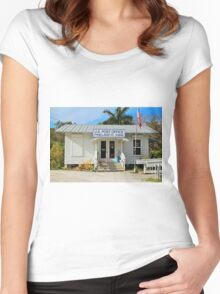 Pineland Post Office II Women's Fitted Scoop T-Shirt
