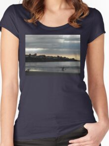 Beautiful Dawn  Women's Fitted Scoop T-Shirt
