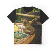 Cabana Frogs Graphic T-Shirt