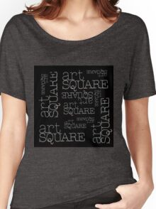 Art Square Women's Relaxed Fit T-Shirt