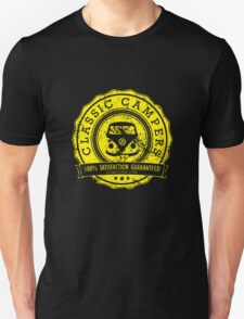 Retro Badge Yellow VW Classic Grunge T-Shirt