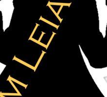 Team Leia Sticker