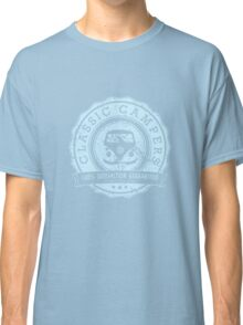 Retro Badge Pale Blue VW Classic Grunge Classic T-Shirt