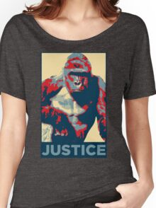 Harambe: Justice Women's Relaxed Fit T-Shirt