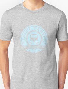 Retro Badge Pale Blue VW Classic T-Shirt