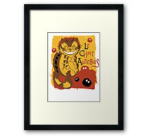 Le Chat Autobus - Catbus Framed Print