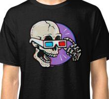 3D Glasses are Skull Cracking Fun! Classic T-Shirt
