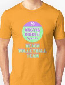 Arctic Circle Beach Volleyball Team Unisex T-Shirt