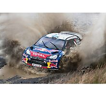 World Rally Car Photographic Print