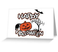 Happy Halloween Greeting Card
