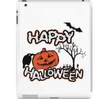 Happy Halloween iPad Case/Skin
