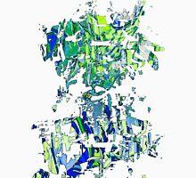 Abstract glitch design Unisex T-Shirt