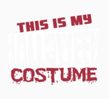 This is my halloween costume Kids Clothes