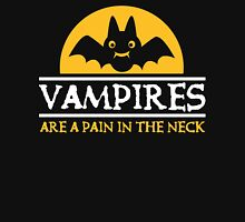 Vampires are a pain in the neck Womens Fitted T-Shirt