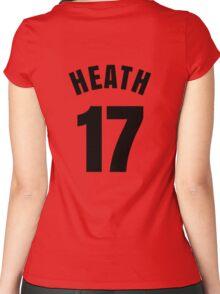 Tobin Heath - 17 Women's Fitted Scoop T-Shirt