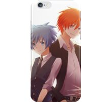 assassination classroom back to back  iPhone Case/Skin
