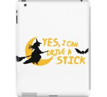 Yes, I can drive a stick iPad Case/Skin