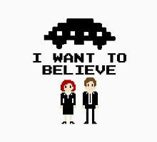 I Want To Believe 8bit Unisex T-Shirt