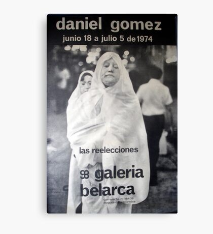 Daniel Gomez - Galeria Belarca Canvas Print