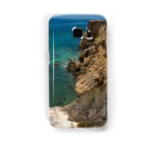 Caribbean Cliffs Samsung Galaxy Case/Skin