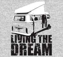 VW Camper Open Roof Living The Dream Kids Clothes