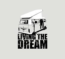 VW Camper Open Roof Living The Dream Unisex T-Shirt