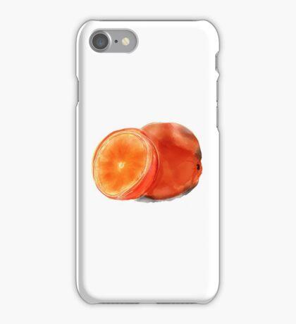 Sliced Orange iPhone Case/Skin