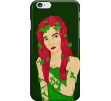 Ivy Green Background iPhone Case/Skin