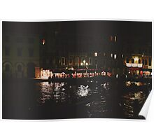 Venetian Evening Poster