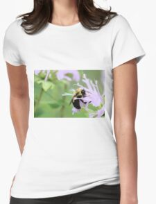 Bee Balm is well named Womens Fitted T-Shirt