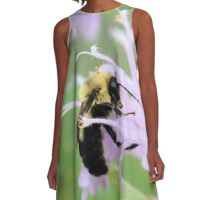 Bee Balm is well named A-Line Dress