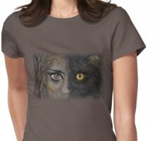 Feline Within Womens Fitted T-Shirt