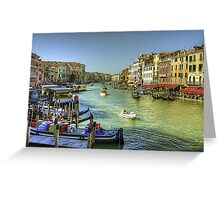 Life in Venice Greeting Card