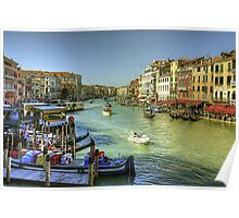 Life in Venice Poster