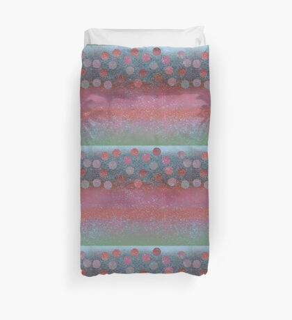 pink moon cocktail Duvet Cover