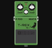 T-Rex Distortion Pedal Kids Clothes