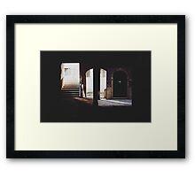 A Quiet Corner of Venice Framed Print