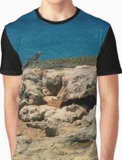 Cliff Iguana Graphic T-Shirt